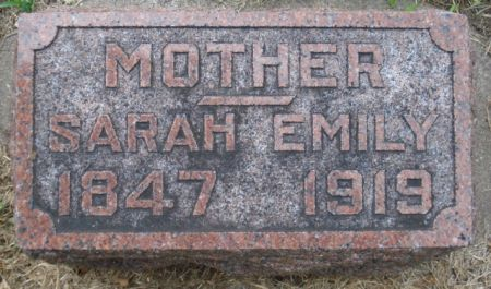 HURSH, SARAH EMILY - Cherokee County, Iowa | SARAH EMILY HURSH