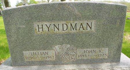 HYNDMAN, LILLIAN E. - Cherokee County, Iowa   LILLIAN E. HYNDMAN