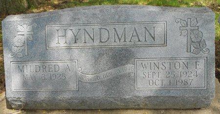 HYNDMAN, WINSTON F. - Cherokee County, Iowa | WINSTON F. HYNDMAN