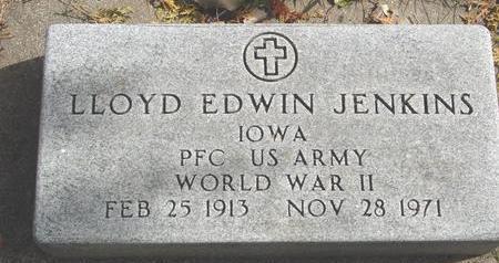 JENKINS, LLOYD EDWIN - Cherokee County, Iowa | LLOYD EDWIN JENKINS