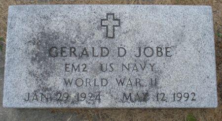 JOBE, GERALD D. - Cherokee County, Iowa | GERALD D. JOBE
