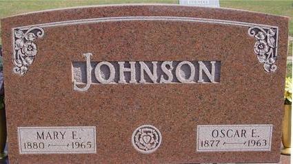 JOHNSON, OSCAR & MARY - Cherokee County, Iowa | OSCAR & MARY JOHNSON