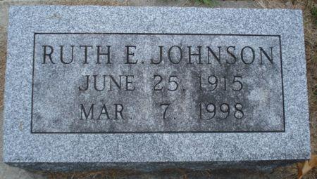 JOHNSON, RUTH E. - Cherokee County, Iowa   RUTH E. JOHNSON