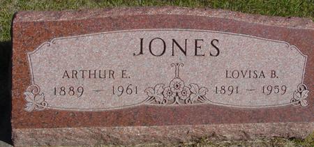 JONES, ARTHUR E. & LOVISA - Cherokee County, Iowa | ARTHUR E. & LOVISA JONES