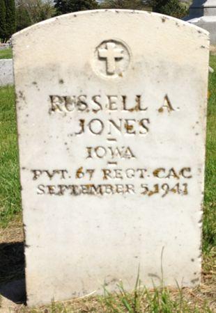 JONES, RUSSELL A. - Cherokee County, Iowa   RUSSELL A. JONES