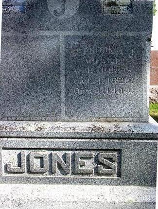 JONES, SEPHRONIA J. - Cherokee County, Iowa | SEPHRONIA J. JONES