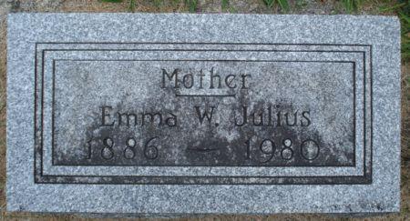JULIUS, EMMA W. - Cherokee County, Iowa | EMMA W. JULIUS