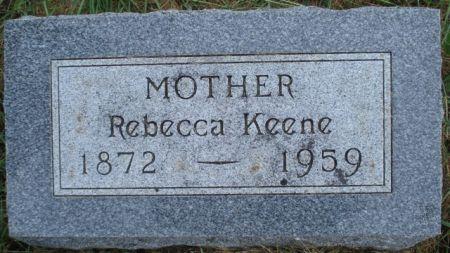 KEENE, REBECCA - Cherokee County, Iowa   REBECCA KEENE