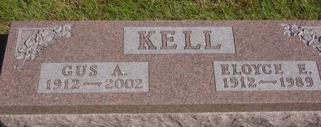 KELL, GUS A. & ELOYCE E. - Cherokee County, Iowa | GUS A. & ELOYCE E. KELL