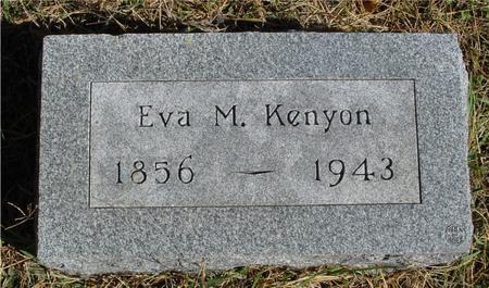 KENYON, EVA M. - Cherokee County, Iowa | EVA M. KENYON