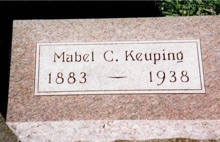 KEUPING, MABEL C. - Cherokee County, Iowa | MABEL C. KEUPING