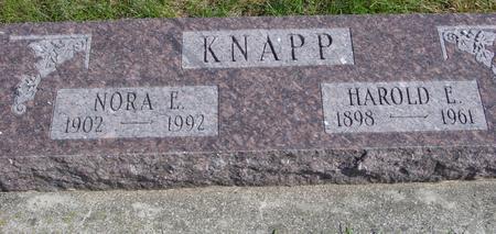 KNAPP, HAROLD & NORA - Cherokee County, Iowa | HAROLD & NORA KNAPP