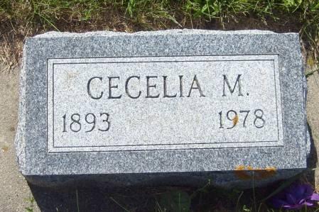 KOSSE, CECELIA M. - Cherokee County, Iowa   CECELIA M. KOSSE