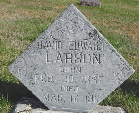 LARSON, DAVID EDWARD - Cherokee County, Iowa | DAVID EDWARD LARSON
