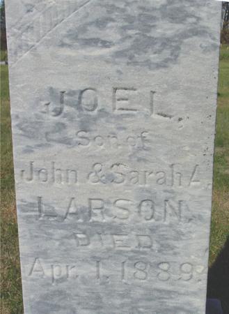 LARSON, JOEL - Cherokee County, Iowa | JOEL LARSON