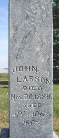 LARSON, JOHN - Cherokee County, Iowa | JOHN LARSON