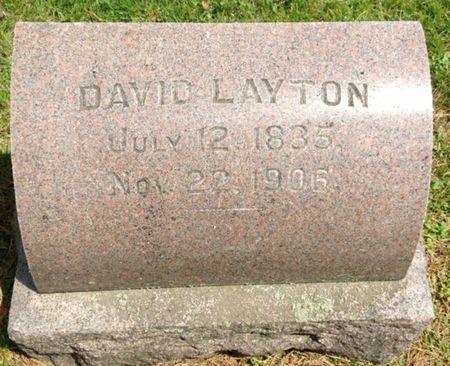 LAYTON, DAVID - Cherokee County, Iowa | DAVID LAYTON
