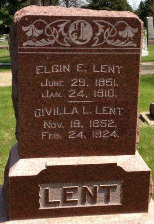 LENT, ELGIN E. - Cherokee County, Iowa | ELGIN E. LENT