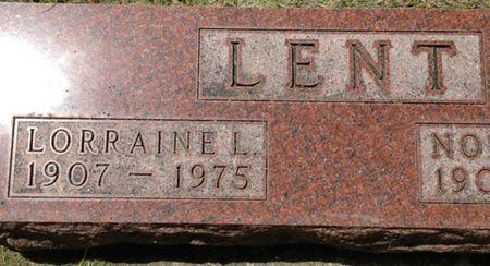 LENT, LORRAINE - Cherokee County, Iowa | LORRAINE LENT