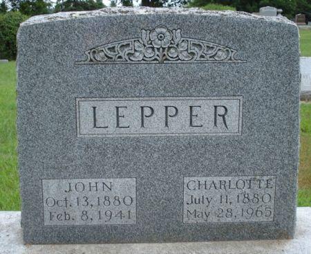 LEPPER, JOHN - Cherokee County, Iowa | JOHN LEPPER