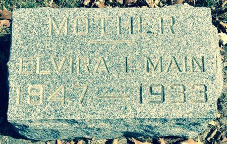 MAIN, ELVIRA - Cherokee County, Iowa   ELVIRA MAIN