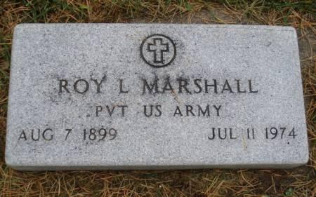 MARSHALL, ROY L. - Cherokee County, Iowa   ROY L. MARSHALL