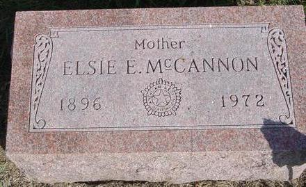 MC CANNON, ELSIE E. - Cherokee County, Iowa | ELSIE E. MC CANNON