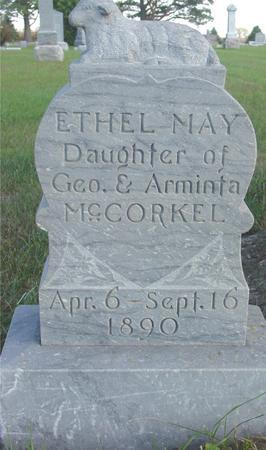 MCCORKEL, ETHEL MAY - Cherokee County, Iowa | ETHEL MAY MCCORKEL