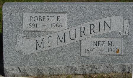 MCMURRIN, ROBERT & INEZ - Cherokee County, Iowa | ROBERT & INEZ MCMURRIN