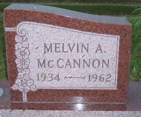MCCANNON, MELVIN ANGELO - Cherokee County, Iowa | MELVIN ANGELO MCCANNON