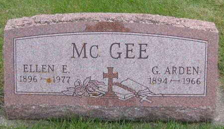 MCGEE, ELLEN E. - Cherokee County, Iowa | ELLEN E. MCGEE