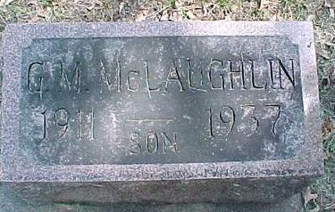 MCLAUGHLIN, G.M. - Cherokee County, Iowa | G.M. MCLAUGHLIN
