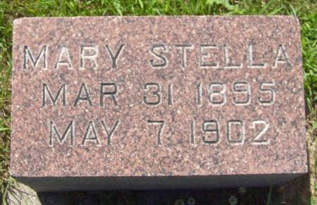 MCLAUGHLIN, MARY STELLA - Cherokee County, Iowa | MARY STELLA MCLAUGHLIN