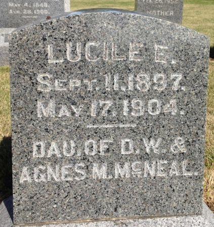 MCNEAL, LUCILE E. - Cherokee County, Iowa | LUCILE E. MCNEAL