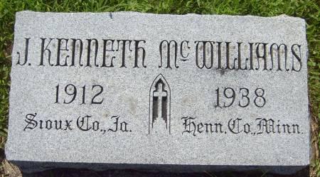 MCWILLIAMS, J. KENNETH - Cherokee County, Iowa | J. KENNETH MCWILLIAMS