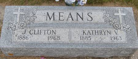 MEANS, J. CLIFTON - Cherokee County, Iowa   J. CLIFTON MEANS