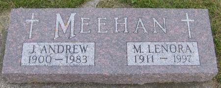 MEEHAN, J. ANDREW - Cherokee County, Iowa | J. ANDREW MEEHAN