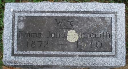 JULIUS MEREDITH, EMMA - Cherokee County, Iowa | EMMA JULIUS MEREDITH