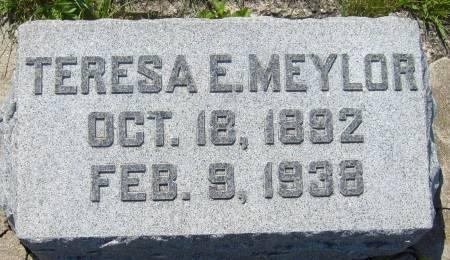 MEYLOR, TERESA E. - Cherokee County, Iowa | TERESA E. MEYLOR