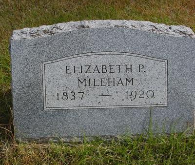 PHARES MILEHAM, ELIZABETH - Cherokee County, Iowa | ELIZABETH PHARES MILEHAM