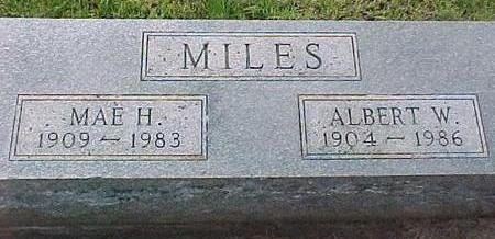 MILES, MAE H. - Cherokee County, Iowa | MAE H. MILES