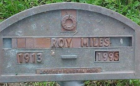 MILES, ROY - Cherokee County, Iowa | ROY MILES