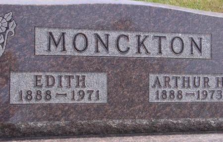 MONCKTON, ARTHUR & EDITH - Cherokee County, Iowa | ARTHUR & EDITH MONCKTON