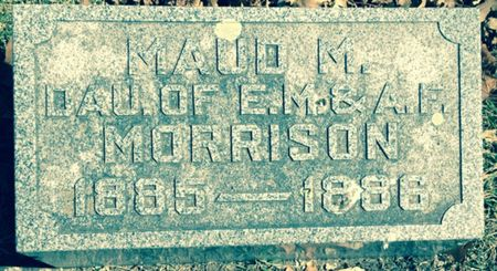 MORRISON, MAUD M. - Cherokee County, Iowa | MAUD M. MORRISON