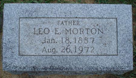 MORTON, LEO E. - Cherokee County, Iowa | LEO E. MORTON