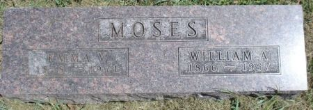 MOSES, WILLIAM A. - Cherokee County, Iowa | WILLIAM A. MOSES