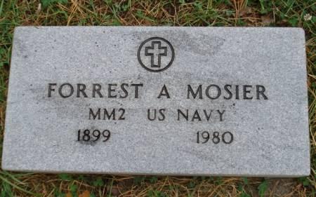 MOSIER, FORREST A. - Cherokee County, Iowa | FORREST A. MOSIER