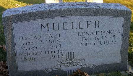 MUELLER, EDNA - Cherokee County, Iowa | EDNA MUELLER