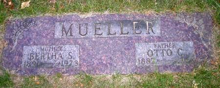 MUELLER, BERTHA - Cherokee County, Iowa | BERTHA MUELLER