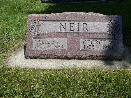 NEIR, GEORGE W - Cherokee County, Iowa | GEORGE W NEIR
